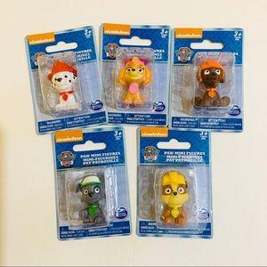 Paw patrol mini figures brand new toys